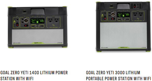 Case Study Goal Zero Used Mongoose OS To Develop Yeti Portable Power Stations