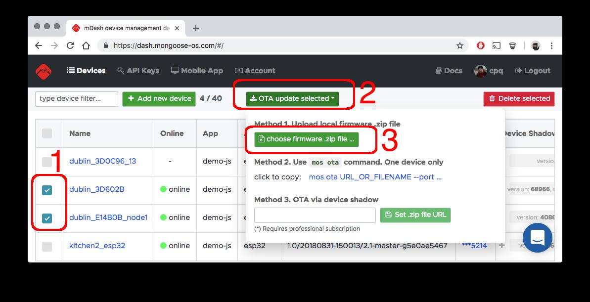 Mongoose OS Documentation